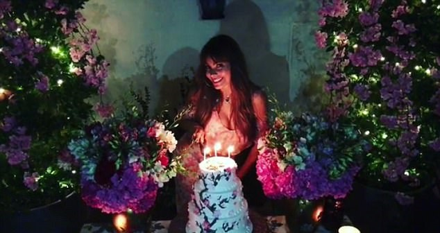 Sofia Vergara-birthday-pics